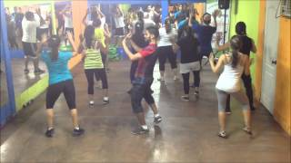 Repeat youtube video Metela Sacala El Chevo  Zumba Escuela de baile  Ritmo y Sabor