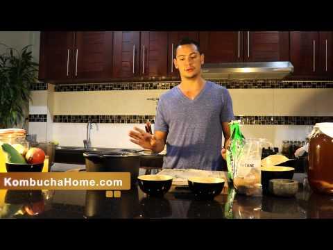 How to Make Sweet Tea for Kombucha