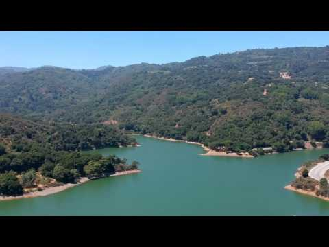 Stevens Creek Reservoir in Cupertino, CA