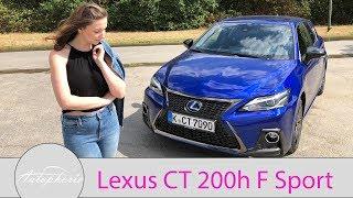 2018 Lexus CT 200h F Sport Fahrbericht / GIRLS REVIEW / Larissa testet - Autophorie