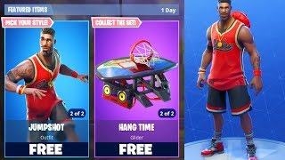 "NEW FORTNITE FREE SKINS UPDATE! NEW ""LEBRON JAMES"" FREE SKIN IN FORTNITE! (FORTNITE BATTLE ROYALE)"