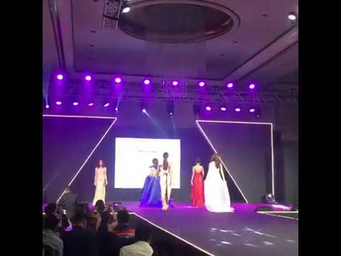 Six former Miss Universe Philippines representatives at Miss Universe Charity Fashion Gala