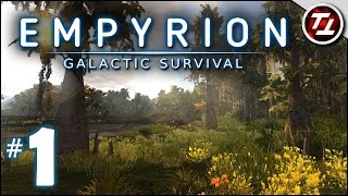 Empyrion: Galactic Survival Gameplay - #1 - A New Beginning- Let