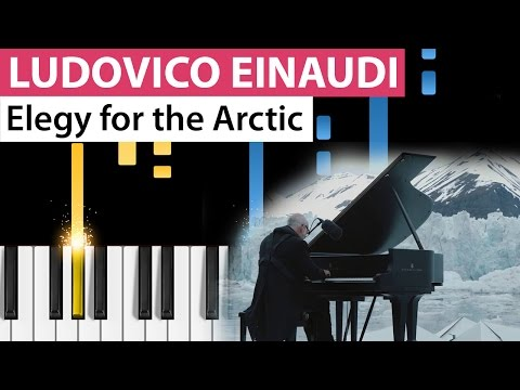 Ludovico Einaudi - Elegy For The Arctic - Piano Tutorial - How to play Elegy for the Arctic on piano mp3