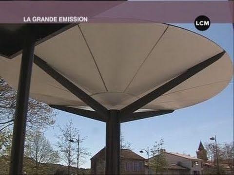 Des arbres solaires pour éclairer les villes? (Marseille)