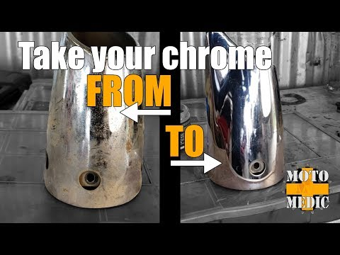 Clean up that Chrome! - How to Clean Rust and Oxidation from Chrome