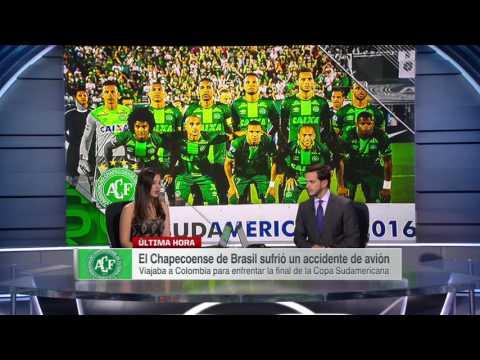 Tragedia cimbra al mundo del deporte Chapecoense