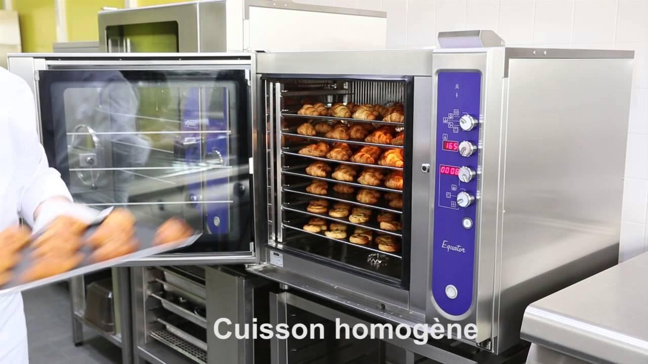 bonnet thirode grande cuisine four mixte equator - youtube