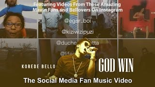 Korede Bello - GodWin Social Media Fan Music Video
