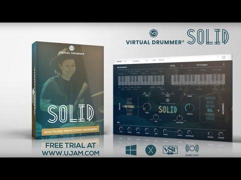 JRRshop com   UJAM Instruments Virtual Drummer SOLID Plugin