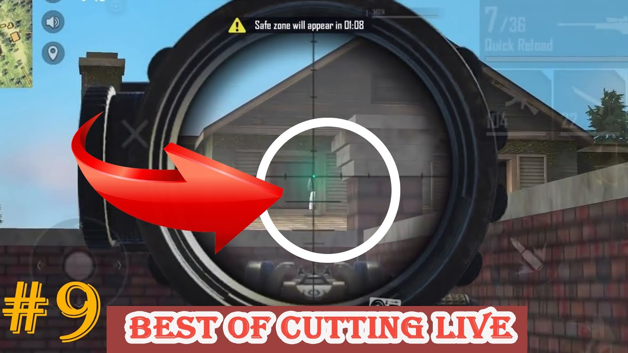 [Total FreeFire] Best Of Cutting Live | FreefireNew #09 - Bug ???