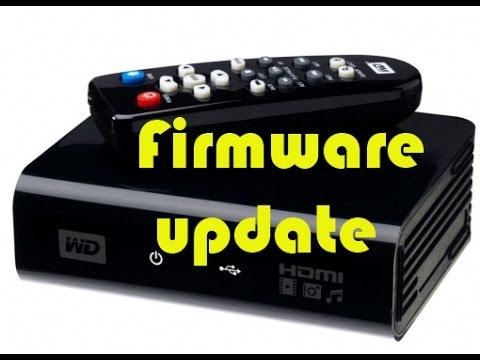wd tv hd media player gen 1 firmware update 2017