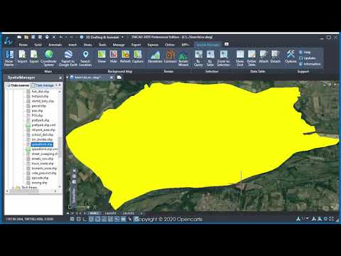 Search Locations (ZWCAD) - Spatial Manager Blog