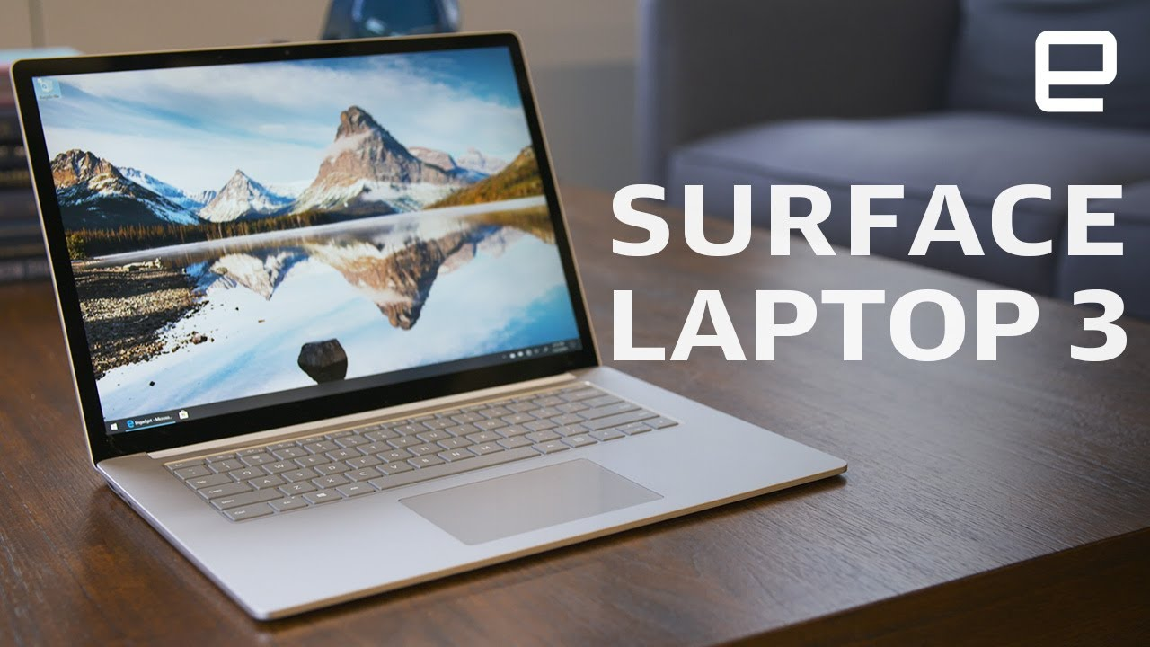 Microsoft Surface Laptop 3 15 Inch Review Youtube