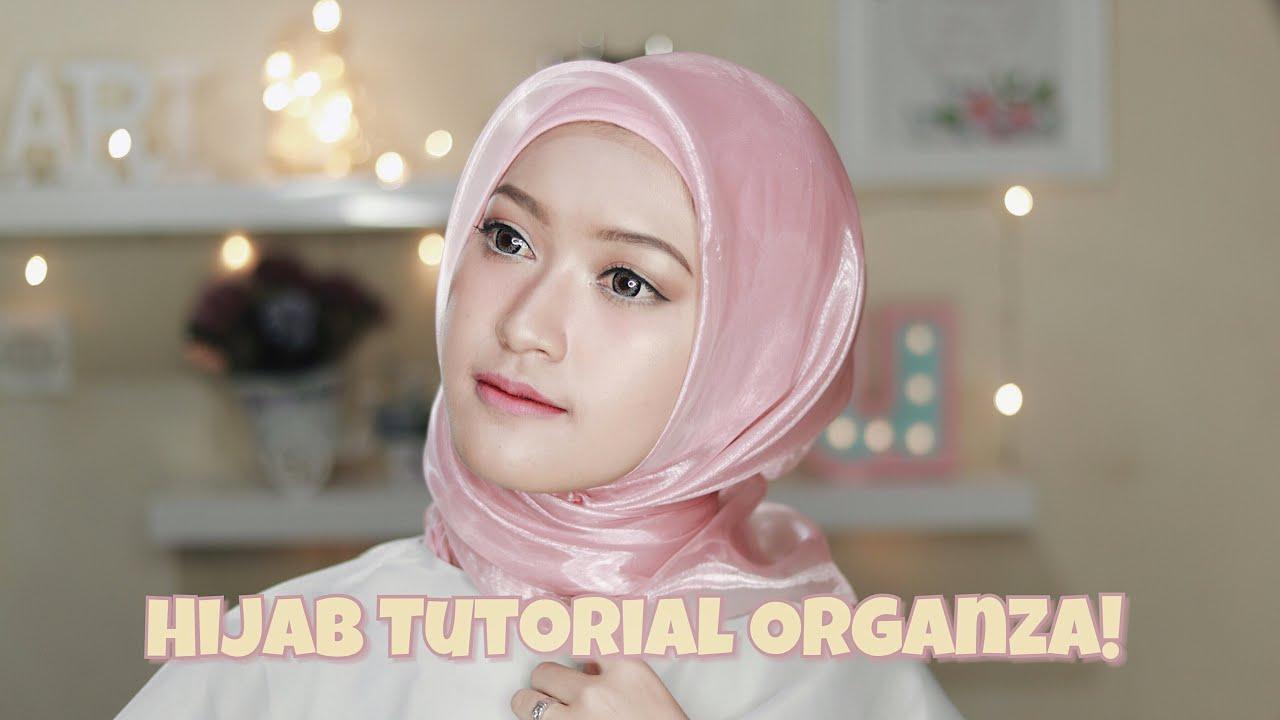 5 Style Tutorial Hijab Organza Saritiw Youtube