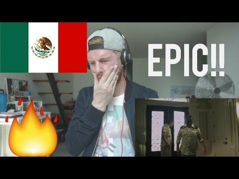 EPIC!! MEXICAN RAP REACTION  CKan  Narcos ft Ill Mascaras