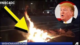 A CRAZY LIBERAL JUST DID SOMETHING INSANE OUTSIDE TRUMP'S HOTEL LAST NIGHT