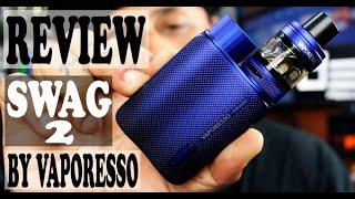 Review Vaporesso Swag 2 - O ḂRABINHO da Vaporesso atualizado! | DonnzVape