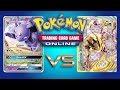 Espeon GX / Garbodor vs Greninja Break - Pokemon TCG Online Game Play