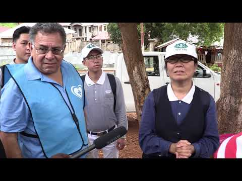 Tzu-Chi-Foundation visit Regent (Mudslide) in Freetown Sierra Leone