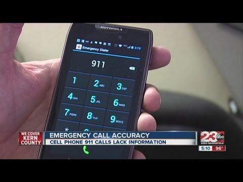 Emergency calls from cell phones problematic