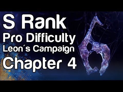 Resident Evil 6 - S Rank Professional Difficulty Guide - Leo