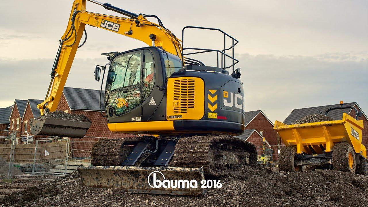 The Jcb Jz140 Excavator Youtube