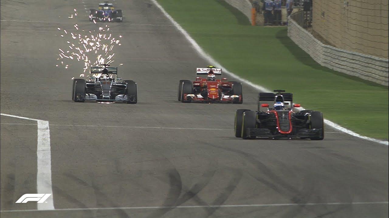 Mercedes and Ferrari Duel in the Desert | 2015 Bahrain Grand Prix Highlights