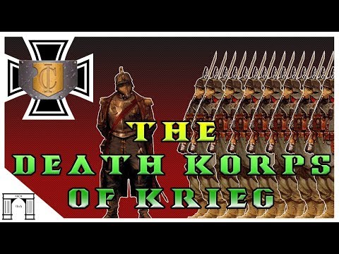 40k Lore, The Death Korps of Krieg!