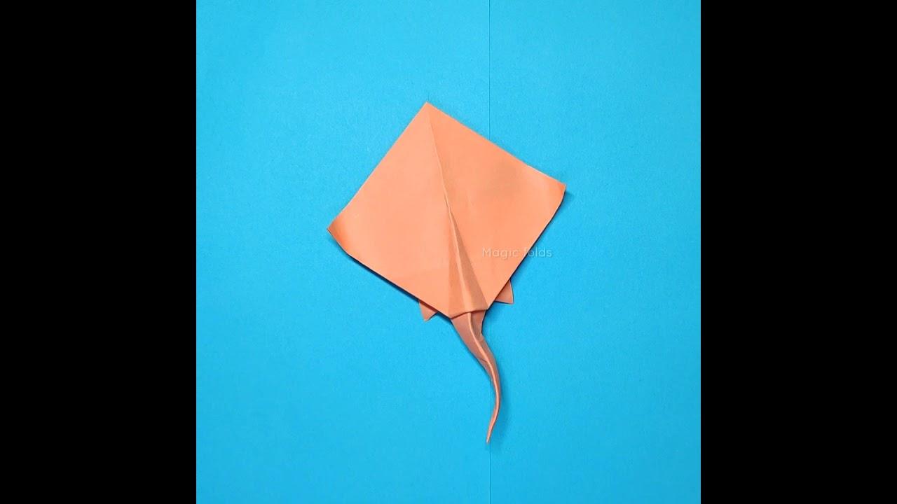 Origami Stingray #Shorts
