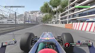 F1 2017 Monaco Red Bull RB6 onboard hot lap (top 400)