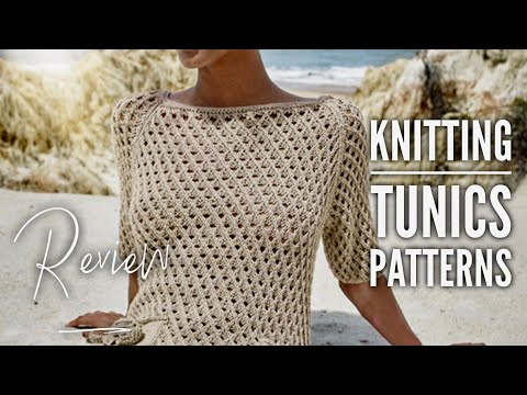 Туника СПИЦАМИ: модели со схемами и описанием / Knitting Tunics: Patterns / REVIEW