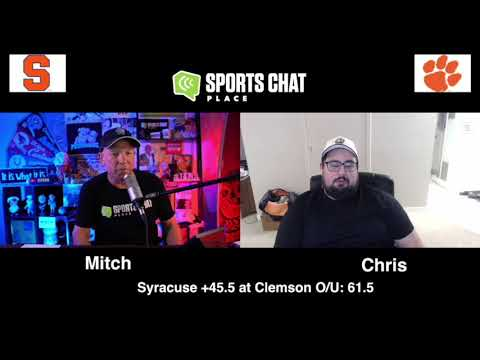 Syracuse at Clemson College Football Picks & Prediction Saturday 10/24/20 Sports Chat Place