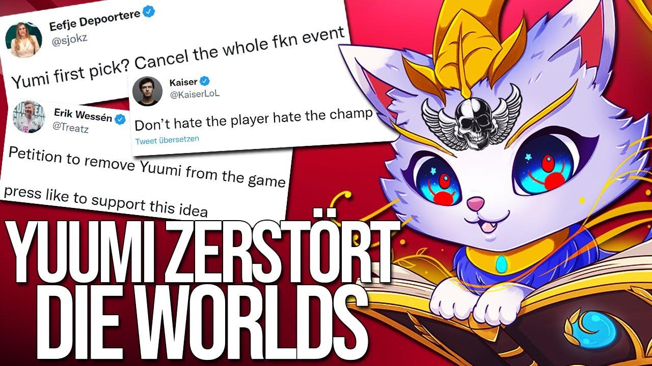 """""""CANCEL WORLDS"""" - die Pros VERZWEIFELN!   Pros spielen Yuumi"""