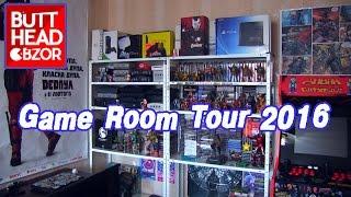 Game Room Tour 2016 - Батхед