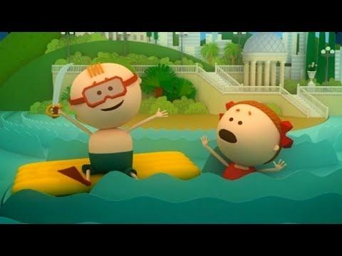 Безопасность на воде мультфильм