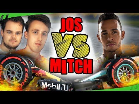 WIE PAKT DE LEIDING? - Jos VS Mitch (F1 2017) - #11