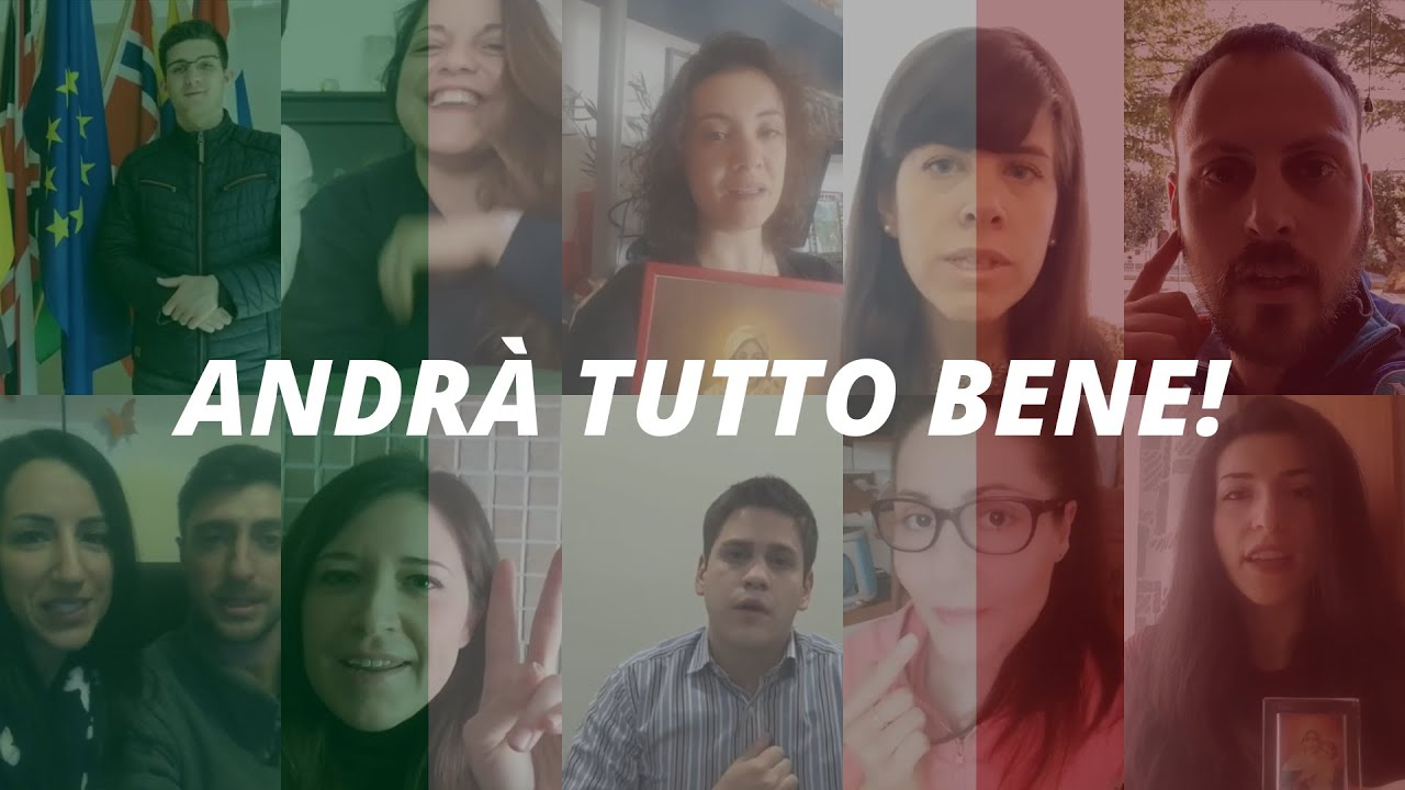 ANDRÀ TUTTO BENE! Video Gioventù d'Italia | ¡Todo estará bien! Video Juventud italiana