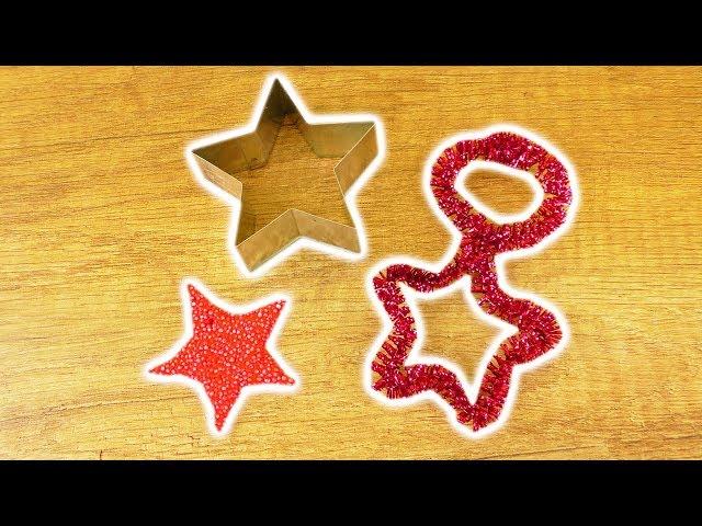 Weihnachts Deko Basteln für Kindern | 2 Super einfache Ideen mit Ausstechformen | Advents Basteln