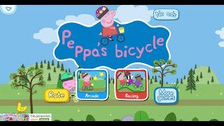 Peppa Pig Bicycles - Peppa Pig Jogo do Bicicleta