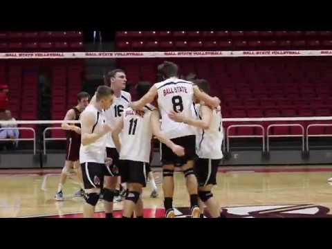 Ball State Men\'s Volleyball vs Loyola