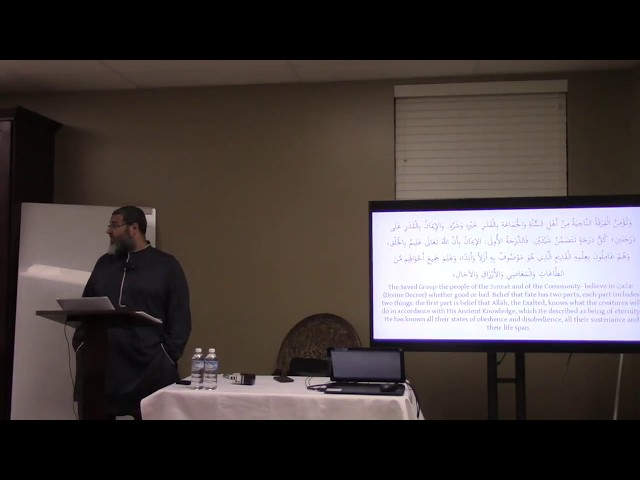 Aqeedah Al-Wasatiyyah | Shaykh Waleed Basyouni | Session 12