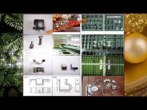 Bar Grating Saddle Clip Lock Clamp Fastenal Fastener Accessories อุปกรณ์ตัวคลิปล็อคยึดจับตะแกรง