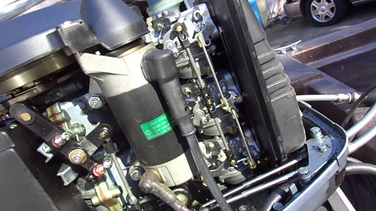 Force Outboard Motor Wiring Diagram 1985 Yamaha 40hp Youtube