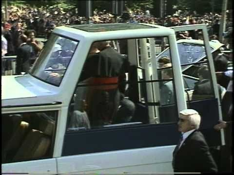 Pope John Paul II visit to the UK - Thames Television