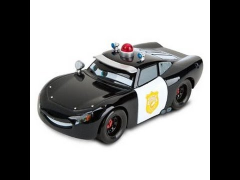 Disney pixar cars coches de policia juguetes para ni os youtube - Juguetes de cars disney ...