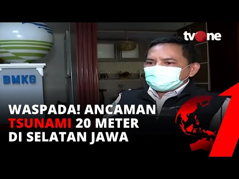 Tim Riset Itb Ungkap Ada Potensi Tsunami Setinggi 20 Meter Di Selatan Jawa | Tvone