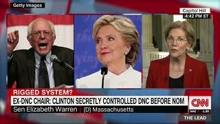 Warren agrees DNC was rigged against Sanders