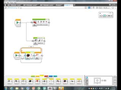 Lego Mindstorms EV3 Tutorial One Way to Multitask: Text, Sound and ...