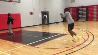 Will Weems 2017 after practice(workout)